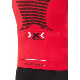 X-Bionic Effektor Power Cykeltrøje m. lynlås Herrer, flash red/black